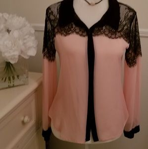 Classy & Lacy Blouse!